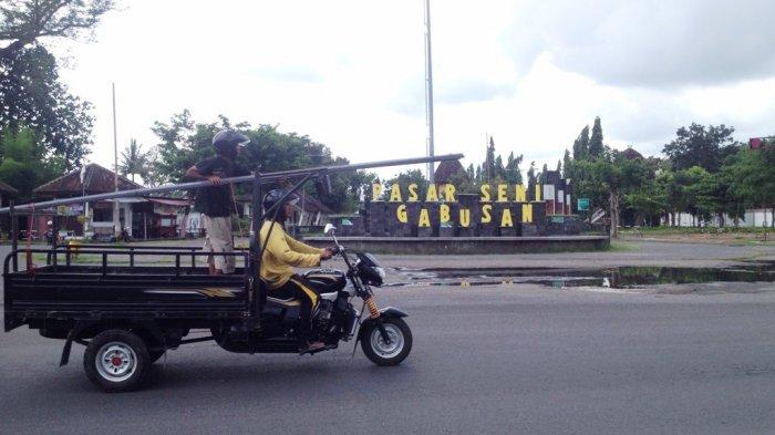 Barang Kerajinan Pasar Seni Gabusan Hilang Tribun Jogja Pusat Kab