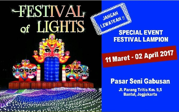 Festival Lampion Pasar Seni Gabusan Bantul Berita Berbeda Lokasi Berada