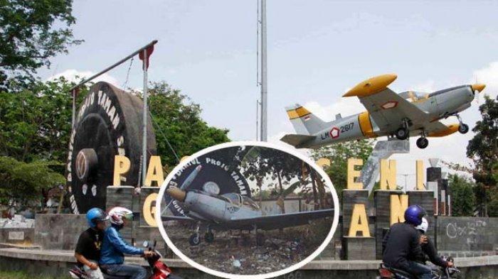 Loh Replika Pesawat Gong Golong Giling Pasar Seni Gabusan Pusat