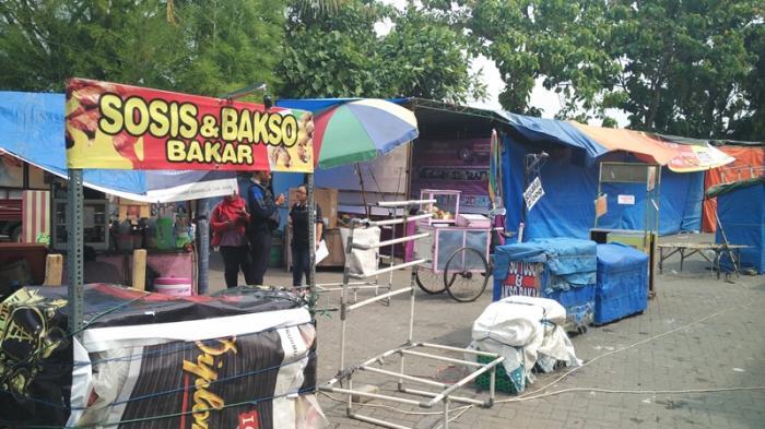 Manajemen Pasar Seni Gabusan Dituding Tarik Uang Lampu Pkl Stan