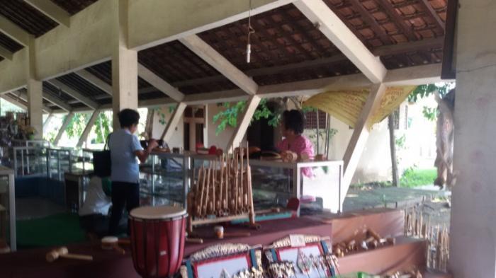 Musim Liburan Pasar Seni Gabusan Kurang Ramai Tribun Jogja Pusat