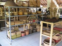 Obyek Wisata Dibantul Pasar Seni Gabusan Kerajinaan Bambu Pusat Kab