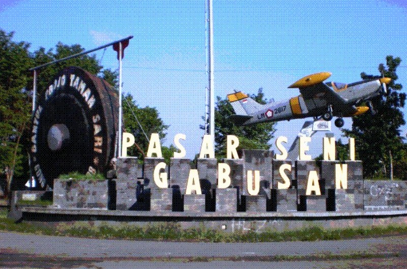Pasar Seni Gabusan Disulap Jadi Taman Budaya Portal Berita Bisnis