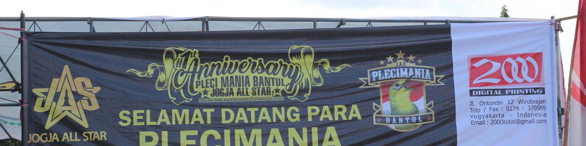 Pasar Seni Gabusan Pusat Kerajinan Kabupaten Bantul 1st Anniversary Pleci