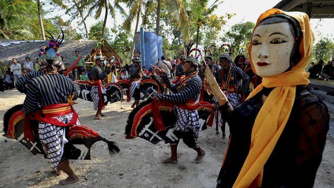 Seni Gabusan Bantul Disulap Jadi Taman Budaya Pasar Pusat Kab
