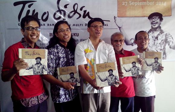 Buku Perjalanan Hidup Tino Sidin Diluncurkan Taman 2016 Sidinposted Event