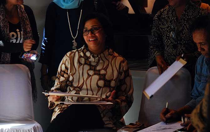 Hal Biasa Dilakukan Sri Mulyani Indrawati Menteri Keuangan Berkunjung Museum
