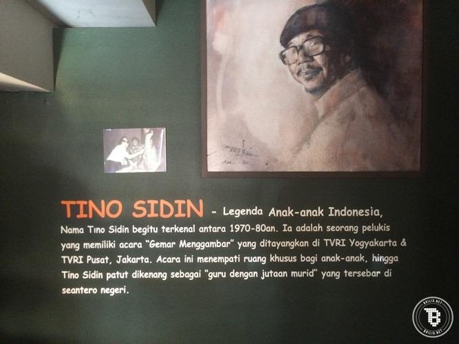 Mengenal Siapa Tino Sidin Solid Gold Tamantino Taman Kab Bantul