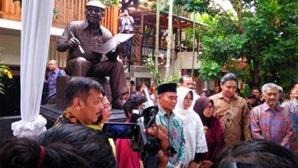 Pengamanan Peresmian Patung Tino Sidin Museum Taman Personil Polsek Kasihan