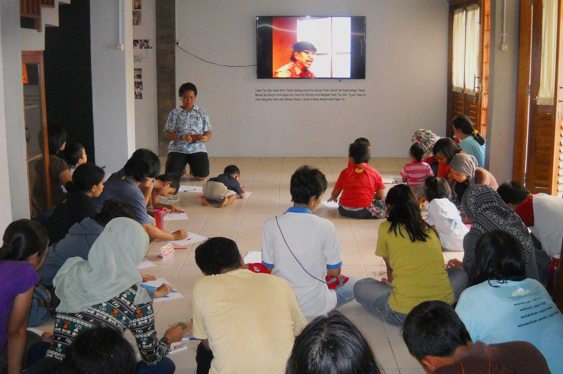 Program Taman Tino Sidin Kab Bantul