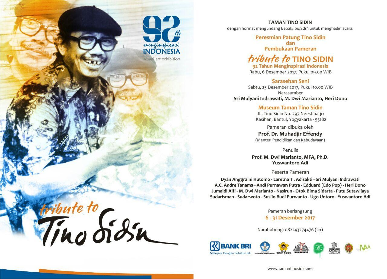 Tribute Tino Sidin 6 31 Desember 2017 Heri Dono Taman