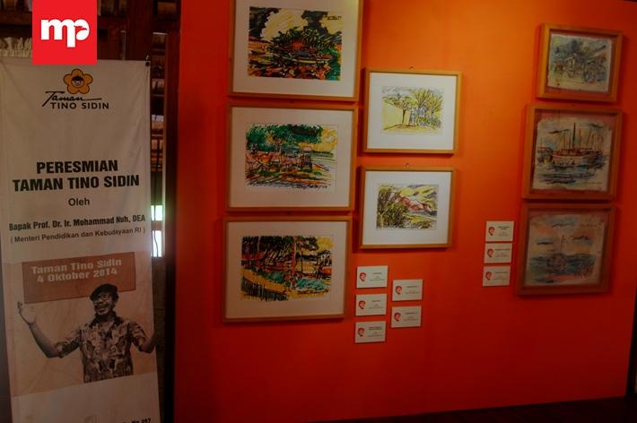 Wisata Edukasi Museum Pak Tino Sidin Merahputih Taman Kab Bantul