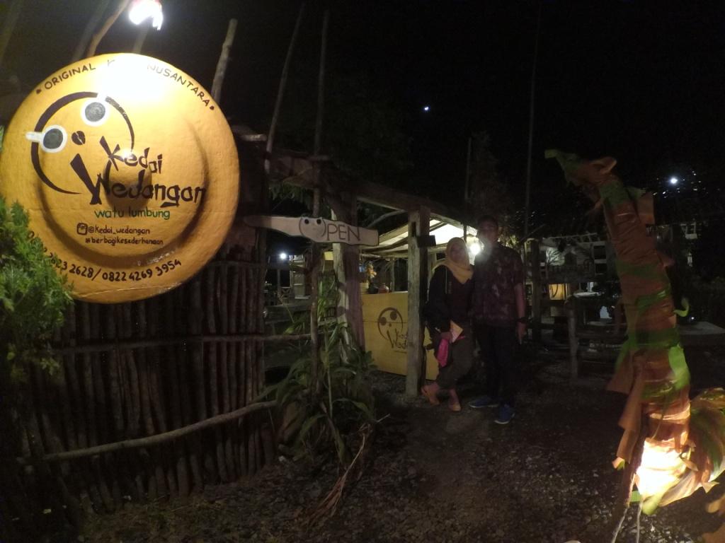 Bukit Watu Lumbung Menikmati Jogja Selatan Ketinggian Shally Tampak Depan
