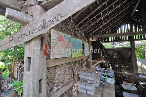 Kampung Edukasi Watu Lumbung Bantul Bersantai Sambil Belajar Perpustakaan Kab