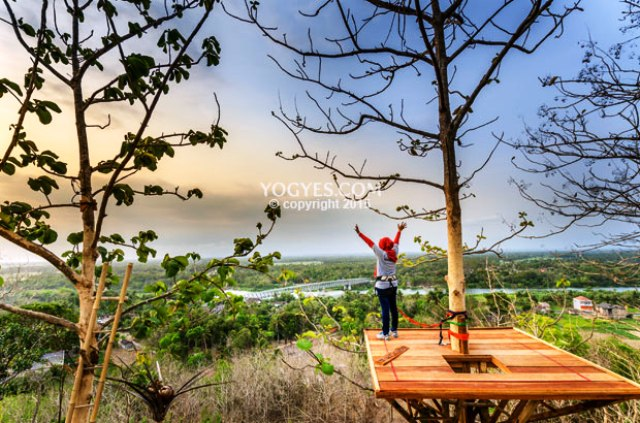 Memandang Langit 8 Rumah Pohon Jawa Tengah Klikhotel Kampung Edukasi