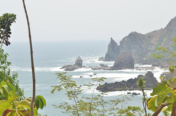 Pantai Watu Lumbung Gunungkidul Berada Tak Jauh Wediombo Jepitu Girisubo
