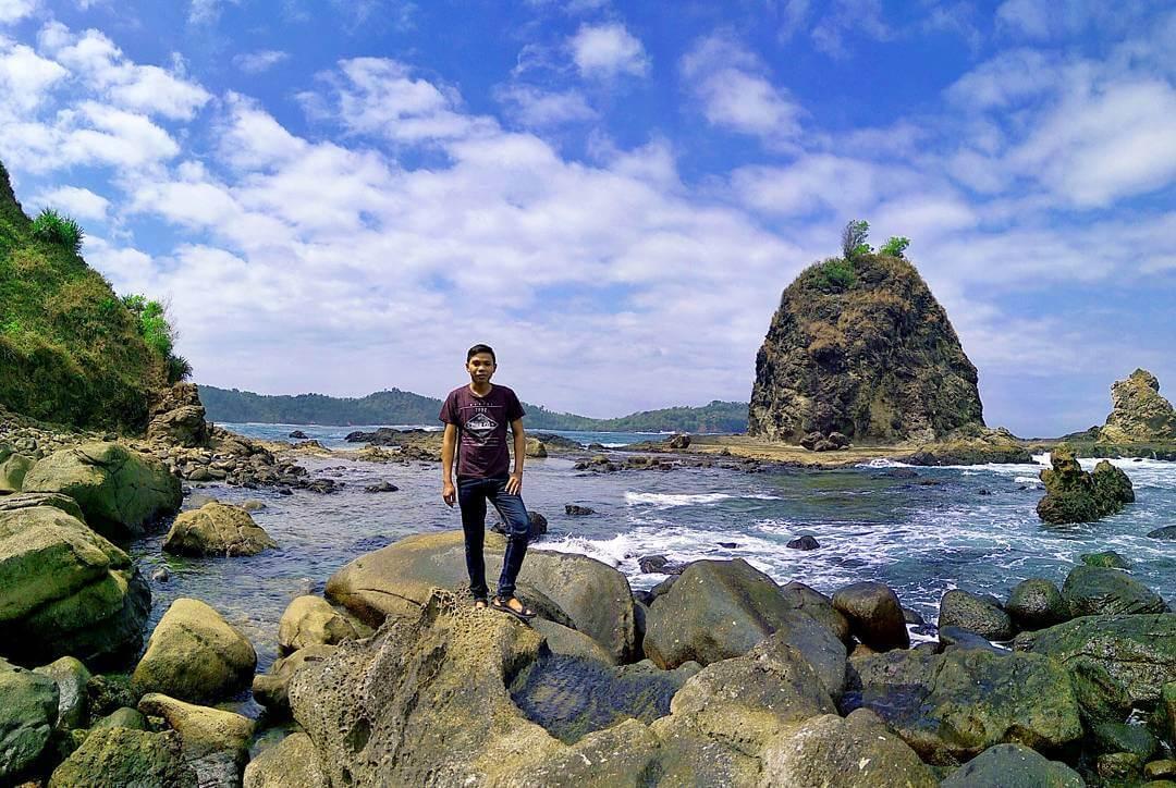 Rute Lokasi Pantai Watu Lumbung Gunung Kidul Jogja Surga Dunia