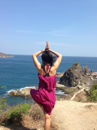 Seksi Pantai Watu Lumbung Wonosari Jogja Picnic Kab Bantul