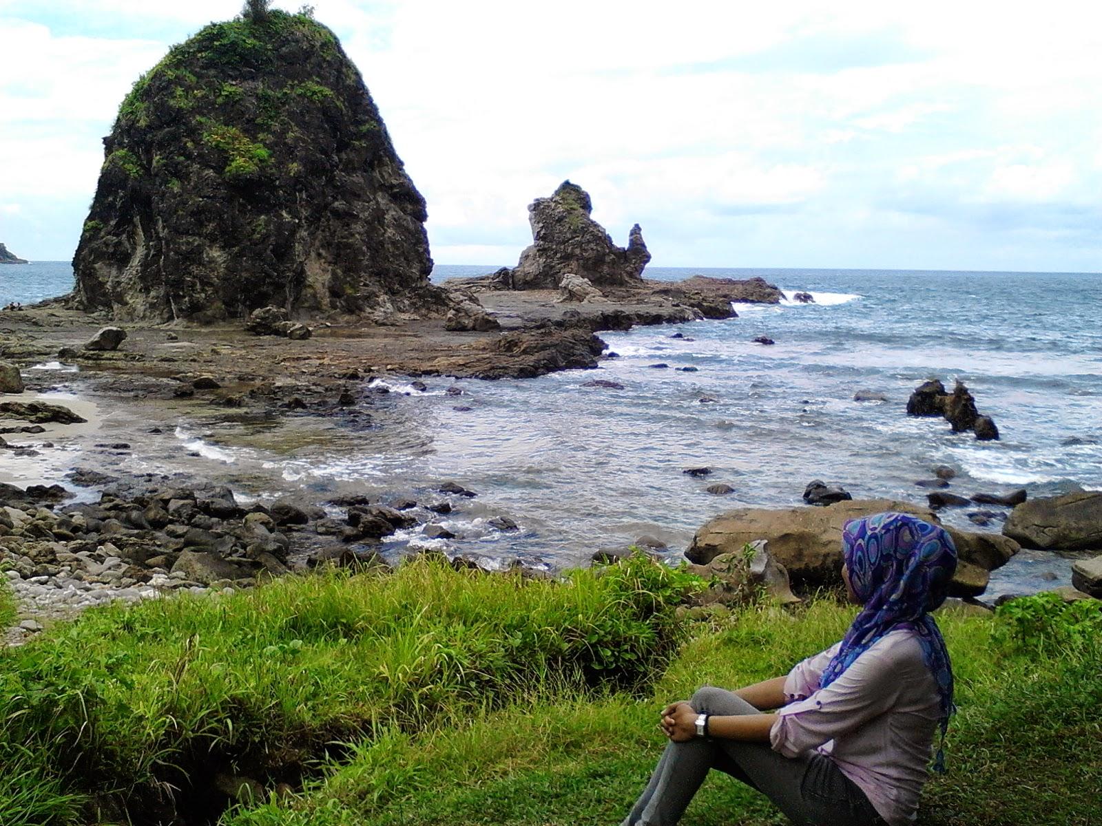 Seksi Pantai Watu Lumbung Wonosari Jogja Picnic Lumbung2 Kab Bantul