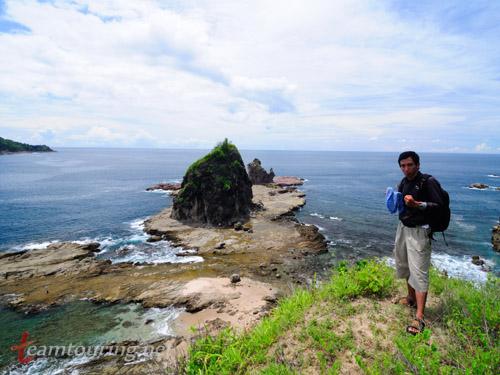 Wisata Petualangan Pantai Watu Lumbung Gunungkidul Teamtouring Annosmile Kab Bantul