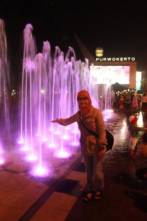 Air Mancur Alun Purwokerto Picture Kab Banyumas