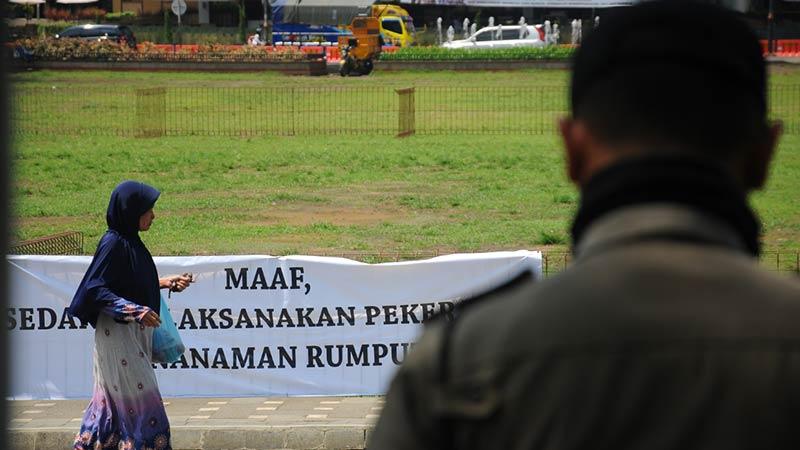 Rumput Alun Purwokerto Dikembalikan Jenis Aslinya Radar Kab Banyumas