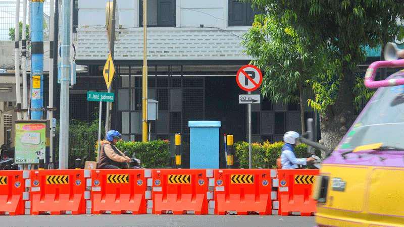 Seberang Alun Purwokerto Steril Parkir Kendaraan Kab Banyumas
