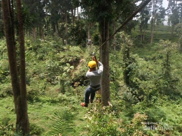 Libur Panjang Seru Baturraden Adventure Forest Long Slide Baf Kab