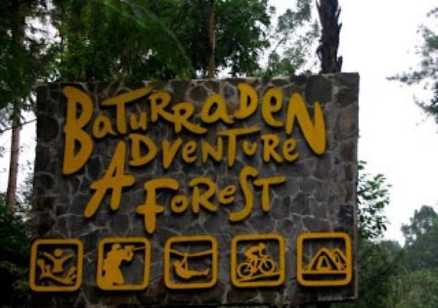 Objek Wisata Baturaden Kunjungi Siswonesia Adventure Forest Baf Baturraden Kab