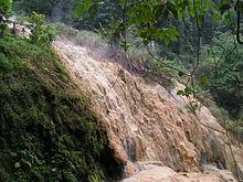 Purwokerto Wikipedia Hot Spring Mineral Deposits Baturraden Adventure Forest Baf