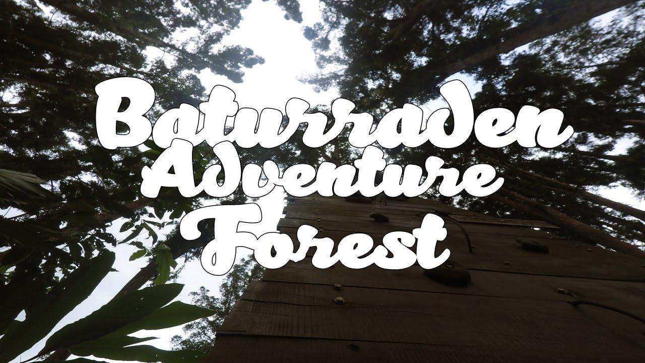 Seharian Baturraden Adventure Forest Youtube Baf Kab Banyumas