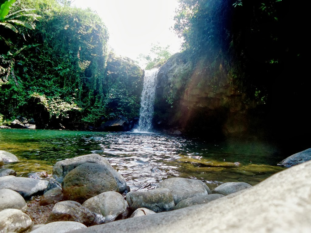 Curug Kembar Tersembunyi Banyumas Provinsi Jawa Tengah Desa Wisata Ketenger