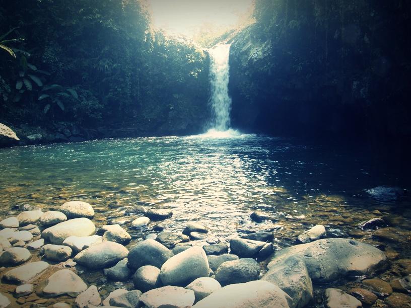 Jalan Curug Bayan Desa Ketenger Kecamatan Baturaden Banyumas Wisata Kab