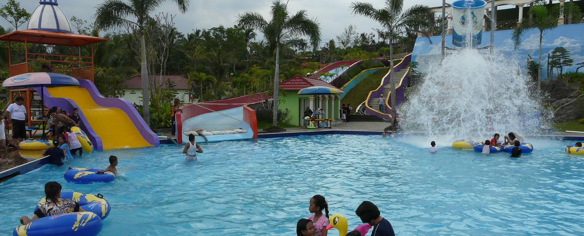 Destinasi Wisata Banyumas Dreamland Park Waterpark Ajibarang Kab