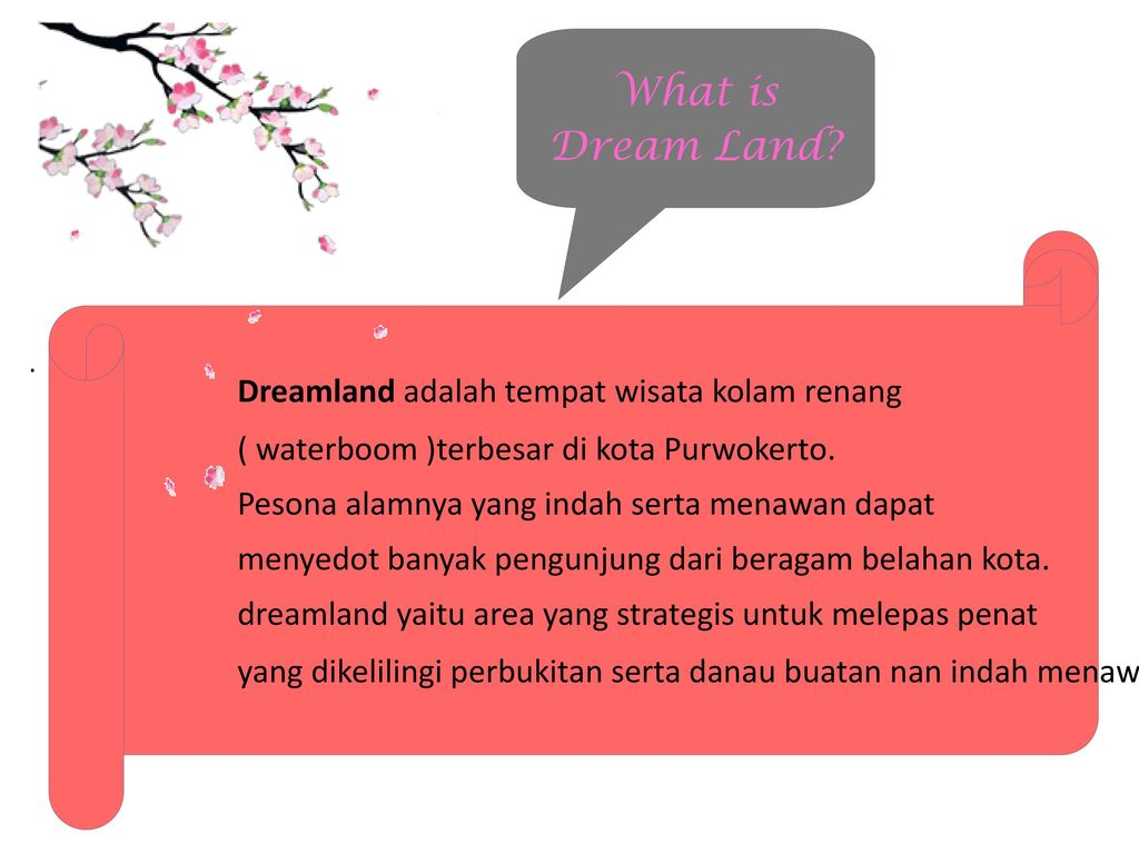 Dream Land Water Park Ajibarang Ppt Download Dreamland Tempat Wisata