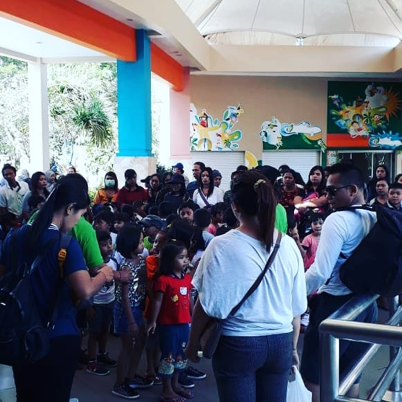 Dreamlandwaterpark Hash Tags Deskgram Suasa Lobby Dreamland Waterpark Pagi Selamat
