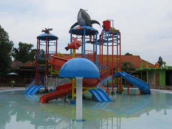 Waterpark Kontraktor Waterboom Kiddy Jombang Dreamland Ajibarang Kab Banyumas