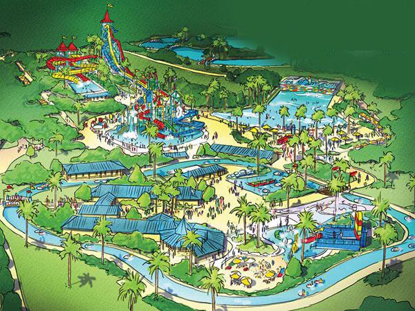 Waterpark Kontraktor Waterboom Legoland Water Park Concept Overview Dreamland Ajibarang