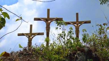 Gua Maria Wisata Religi Terpendam Polaman Sendangharjo Blora Salib Mari
