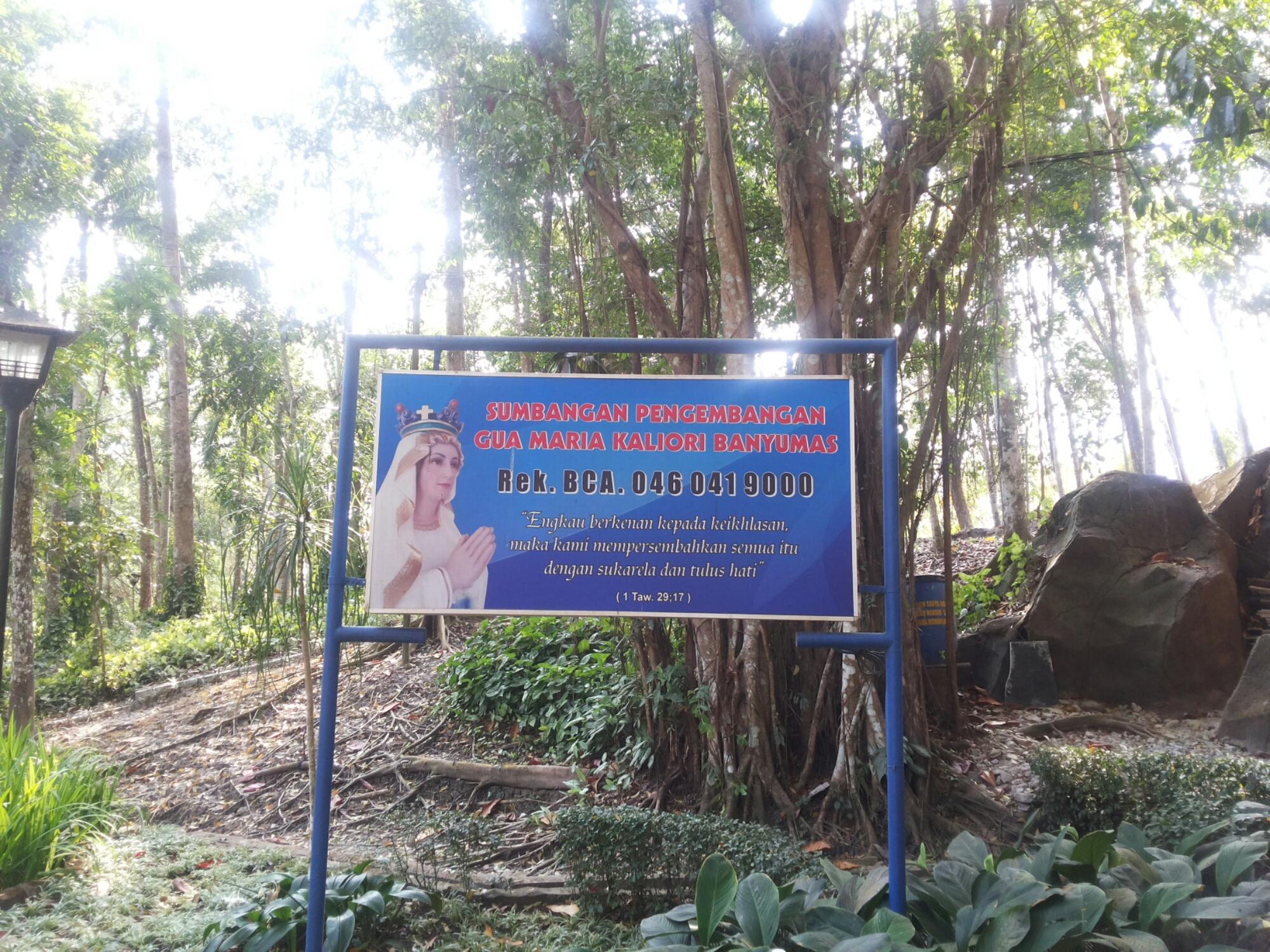 Menuju Gua Maria Kaliori Banyumas Anak Surakarta Solo Image Goa