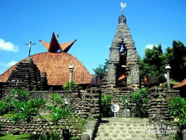 Wisata Religi Kristen Katholik Jogjakarta Yogyakarta Jawa Tengah Gua Maria