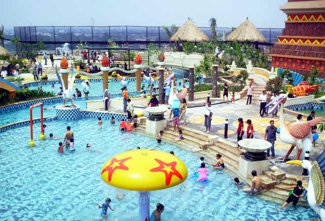 30 Tempat Wisata Tangerang Banten Daerah Serpong Selatan Marcopolo Waterpark