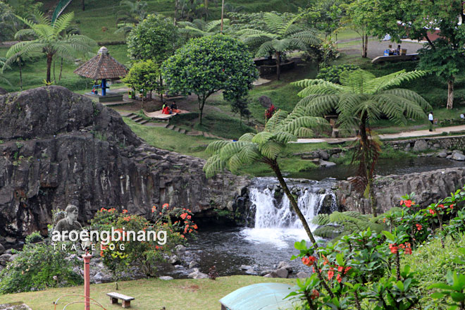 Aroengbinang Tempat Wisata Banyumas Kebun Water Park Kab