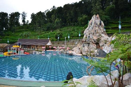 Ciwidey Valley Resort Hot Spring Water Park Bandung Waterpark Kebun