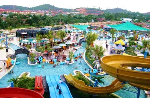 Harga Tiket Masuk Waterpark Gumul Kediri Terbaru Kebun Water Park