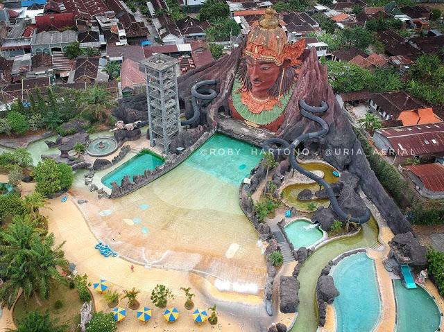 Top 37 Tempat Wisata Jawa Tengah Wajib Dikunjungi Pandawa Water
