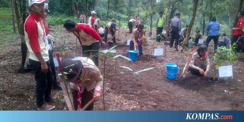 Diresmikan Kebun Raya Baturaden Diproyeksikan Jadi Taman Flora Java Kompas