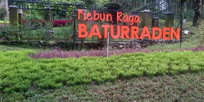Ganjar Berharap Baturraden Jadi Tambahan Destinasi Wisata Jateng Kebun Raya