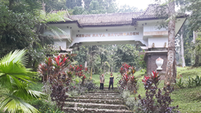 Kebun Raya Baturaden Inisiatif Megawati Utuh Terealisasi Pintu Gerbang Baturraden