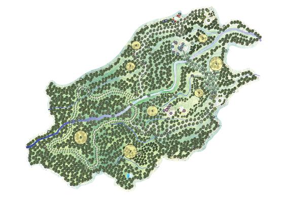 Kebun Raya Baturraden Berada Desa Kemutug Lor Kecamatan Kabupaten Banyumas